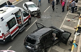 Urfa Milletvekili aday adayı kaza yaptı