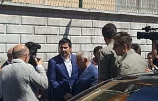 Başbakan Suruç'ta Yıldız'a başsağlığı...