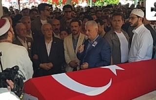 Başbakan Yıldırım Urfa'da şehit cenazesine...