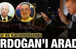 Başkan Erdoğan'a sürpriz 2 telefon