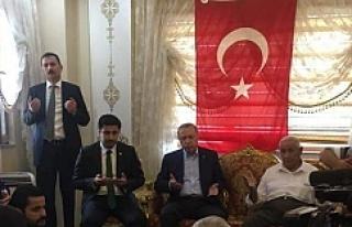 Erdoğan Yıldız'ın evinde...