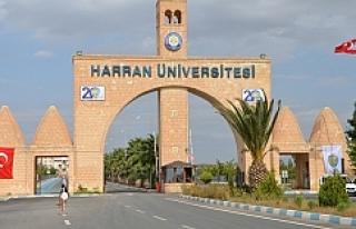 Harran Üniversitesinden müjdeli haber...