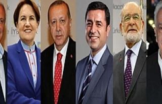 Liderlerin oy kullanacakları yerler belli oldu