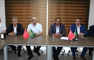 Urfaspor'da görev dağılımı yapıldı