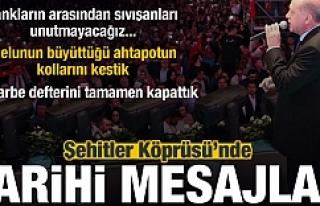 15 Temmuz Zaferinin 2. Yılında Erdoğan'dan...