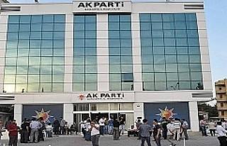 AK Parti İl Başkanlığı'ndan istifa açıklaması!