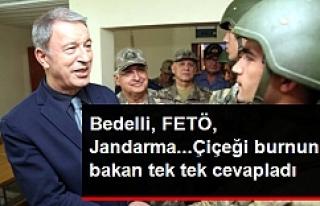 Milli Savunma Bakanından flaş açıklamalar