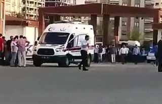 Karaköprü Belediyesinde kavga
