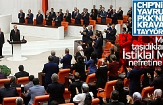 Mecliste HDP safında sessizlik!