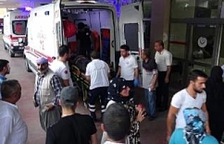 Urfa'da feci kaza, 11 Yaralı
