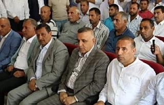 Harran'da toplantı yapıldı...
