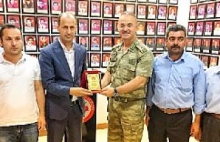 Tuğgeneral İsmail Hakkı Köseali'den Başkan...
