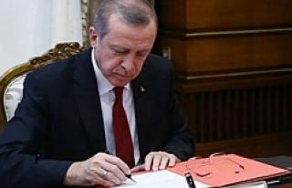 Başkan Erdoğan'dan flaş atamalar! Urfalı...
