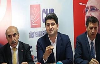 CHP Genel Başkan Yardımcısı Urfa'da…
