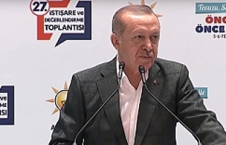 """Erdoğan: """"kriz yok"""""""