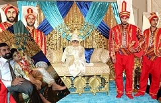 Krallar gibi sünnet oldu...