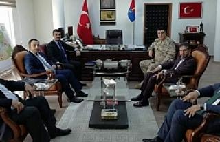 Yıldız Albay Kirişçi'yı ziyaret etti...