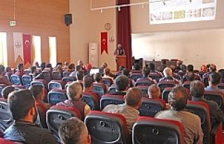 Belediye personeline uyuşturucu semineri