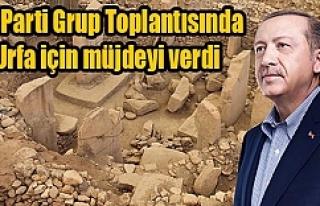 Cumhurbaşkanı Erdoğan'dan Göbeklitepe müjdesi...