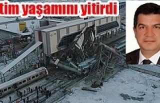 Urfalı aday adayı tren kazasında hayatını kaybetti