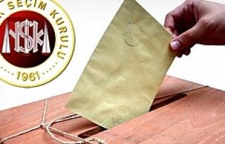 Yüksek Seçim Kurulundan flaş Urfa kararı...