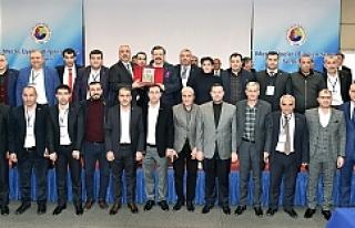 Hisarcıklıoğlu, ŞUTSO Meclis Üyeleri ile bir...