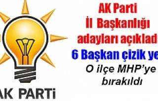 İşte AK Parti'nin Urfa ilçe adayları...