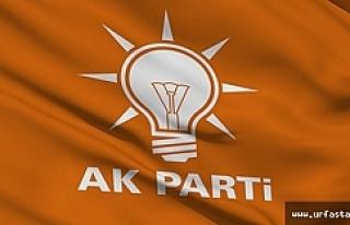 İşte AK Parti Urfa adaylarının açıklanacağı...