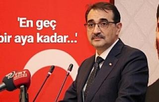 Bakan Dönmez elektrikle ilgili açıklamayı yaptı
