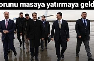 Enerji Bakanı Dönmez Urfa'da...