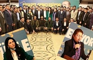 Genç Meclis üyeleri tam destek verdiler...