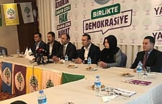 HDP Urfa için kararını verdi...