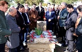 Merhum Balak mezarı başında anıldı..