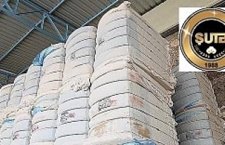 Urfa Borsasında preseli pamuk 7,95 TL'den işlem...