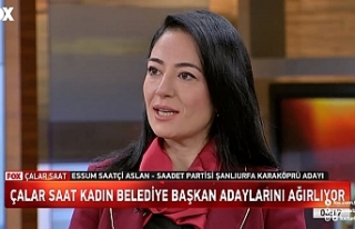 Aslan, Karaköprü'yü Türkiye gündemine taşıdı
