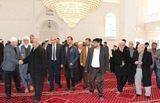 Demirkol Caminin açılışını yaptı...