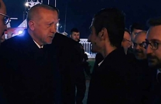 """Erdoğan'dan Bayburtlu Yusuf' a """"İyiki..."""