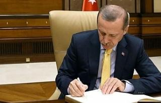 Erdoğan imzaladı! 3 atama…