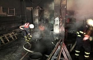 Eyyübiye'de çıkan yangın korkuttu!