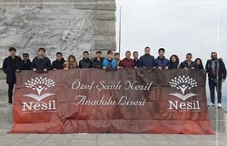 Şanlı Nesil öğrencileri Çanakkale'nin havasını...