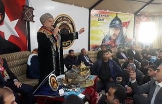 Külünk, Türkmen Birliğinde sert konuştu