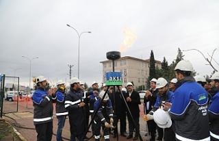 Viranşehir doğalgaza kavuştu