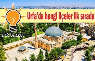 AK Parti Urfa, 11+1 yaptı