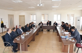 Başkan Bayık, Yeni Meclis Üyeleri ile ilk toplantısını...