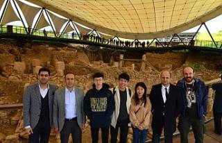 Çinliler Göbeklitepe'ye akın ediyor