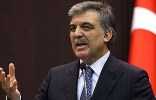 Cumhurbaşkanlığı'ndan Abdullah Gül kararı!