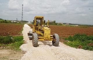 Haliliye kırsalında çalışmalar başladı...