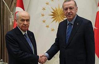 İki lider bir araya geldi…