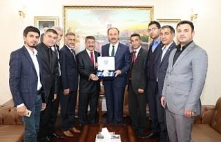 MİSİAD Genel Başkanı Feridun Öncel Şanlıurfa'da...