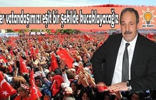Özcan'dan teşekkür mesajı...